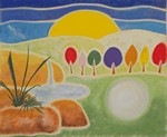 Rejuvenation - from a chalk drawing by Rosemary Phillips